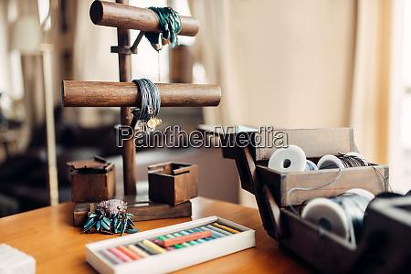needlework hobby handmade bracelets bijouterie