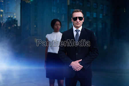 personal bodyguard of black business woman