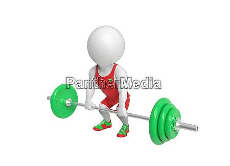 little weight lifter