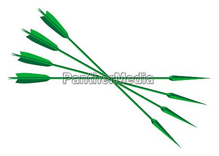 robin hood lincol green arrows