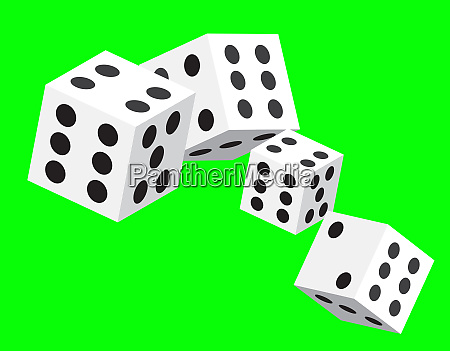 dices game throw betting gamble luck