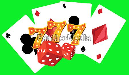 777 big win gambling luck