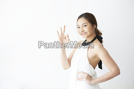 female model pose