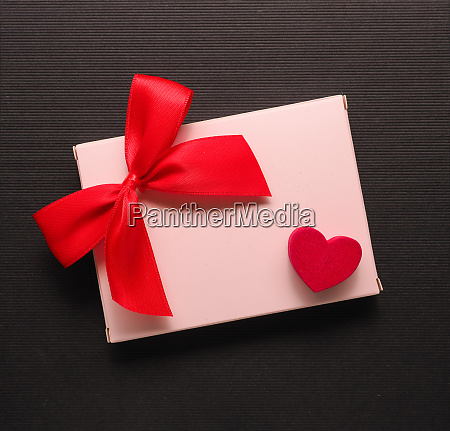 red wooden heart shape on a
