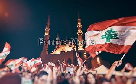 revolution in lebanon