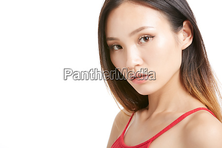 woman portrait series dressup