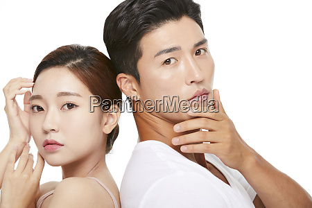 men and women beauty series