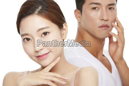 men and women beauty series