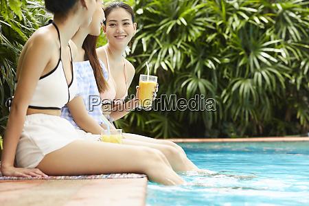 female resort travel