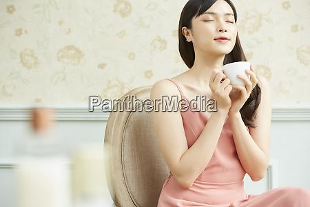 female tea time