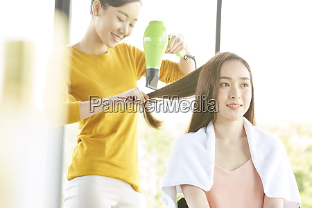 woman beauty beauty salon