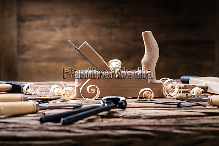 various carpenter tools