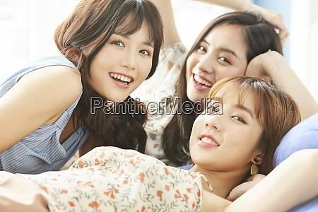 womens association pajama party