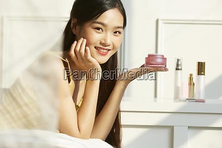 female beauty bedroom