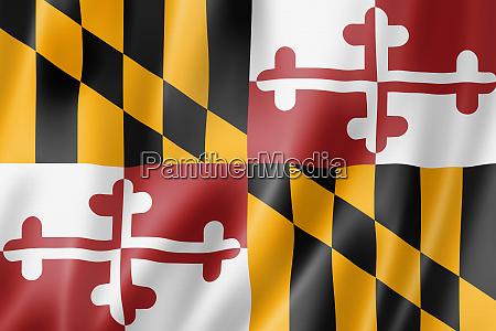 maryland flag usa