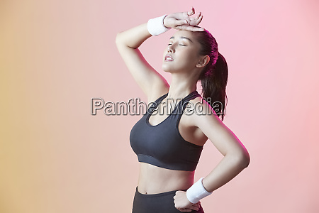 female sports athlete