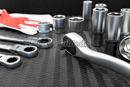 car repair tools wrench tool set