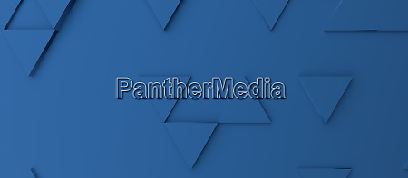 abstract modern classic blue triangle background
