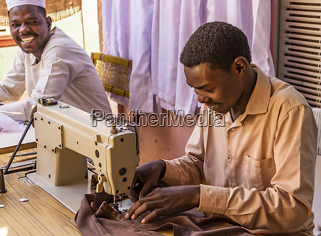 tailor at the market dongola northern
