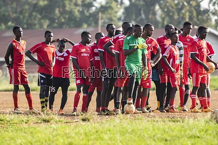 football players hoima western region uganda