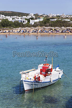 fishing boat moored in the water