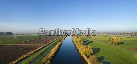overdiepse polder protecting city and surrounding