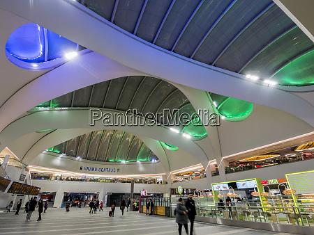 interior of grand central shopping centre