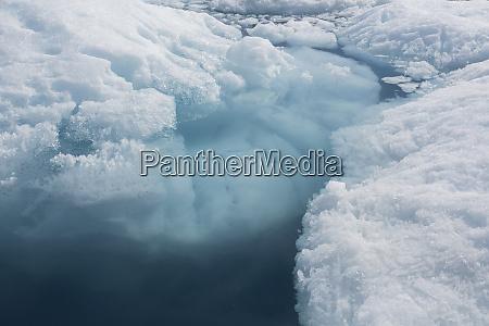 melting polar ice greenland