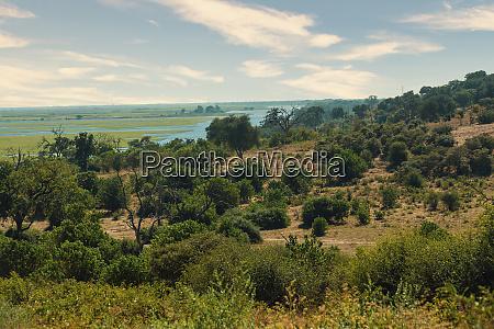 chobe river landscape botswana africa