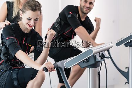 arm training in ems gym studio
