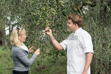 chef and woman owner of olive