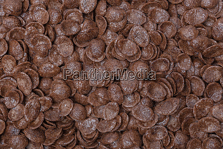 chocolate chips flakes macro detail background