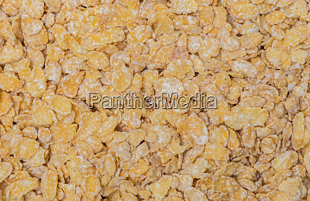 cornflakes macro detail background