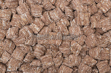 chocolate wheat flakes macro detail background
