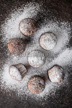 tasty, chocolate, muffins., sweet, cupcakes. - 28135256