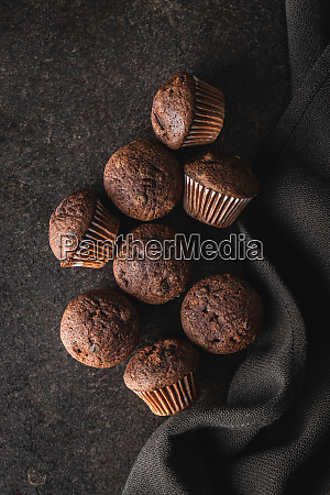 tasty, chocolate, muffins., sweet, cupcakes. - 28135278