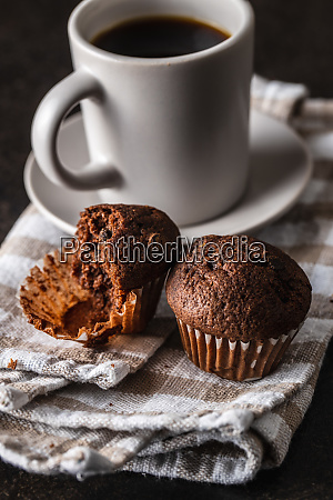 tasty, chocolate, muffins., sweet, cupcakes. - 28135285