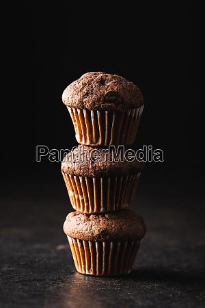 tasty, chocolate, muffins., sweet, cupcakes. - 28135288