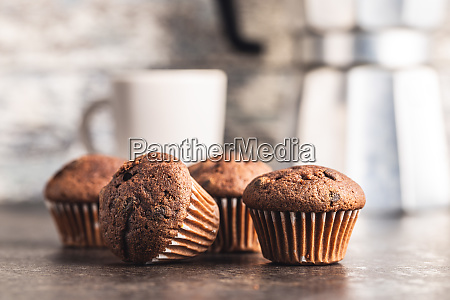 tasty, chocolate, muffins., sweet, cupcakes. - 28135289
