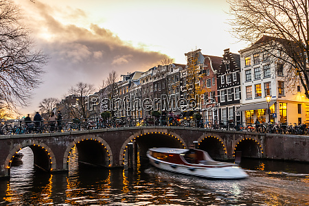 beautiful tranquil scene of city of