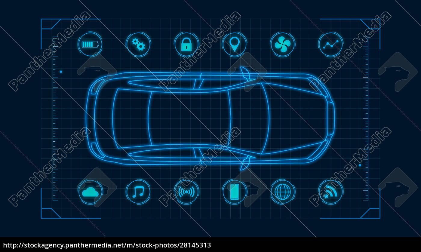 futuristic, car, concept - 28145313