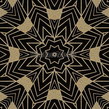 art deco seamless repeating pattern