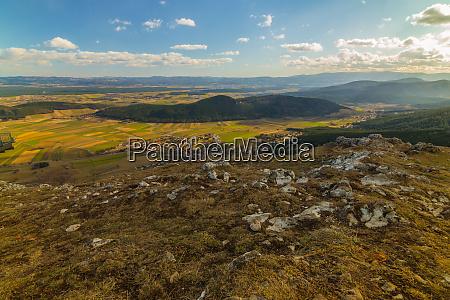 the plateau of the hohe wand