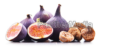composition with fresh and dried figs