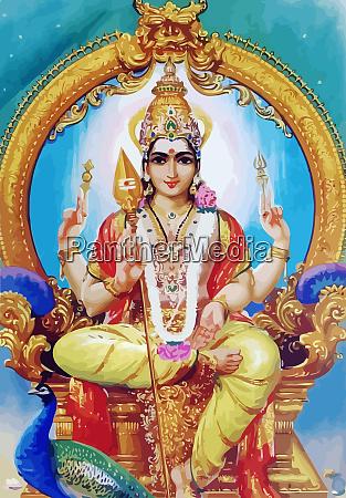 hinduism lord saraswati seated spiritual
