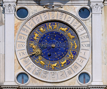 san marco astrology clock