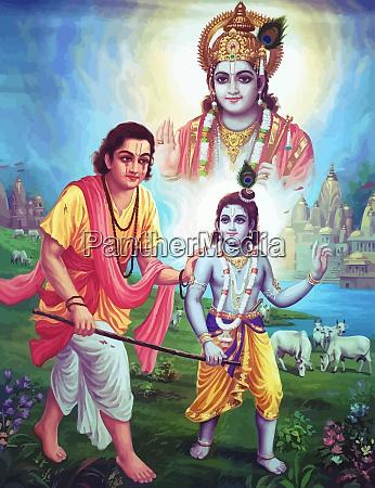 illustration god hinduism spiritual mind holy