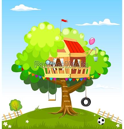 tree house for children