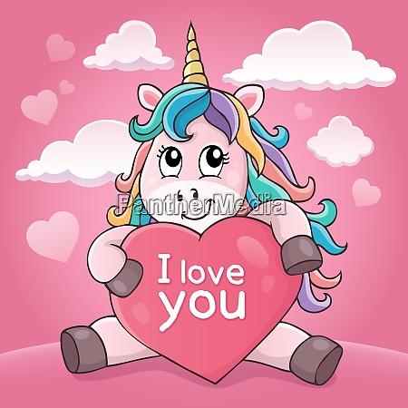 valentine unicorn theme image 4