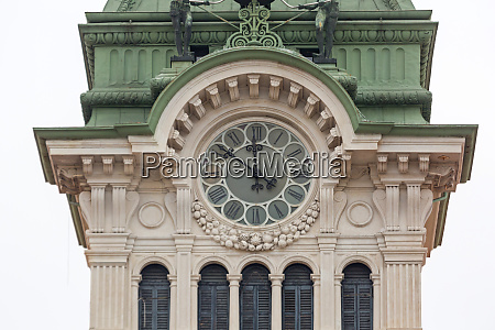 clock tower trieste